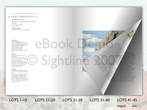Sothebys Electronic Catalogue (2007)